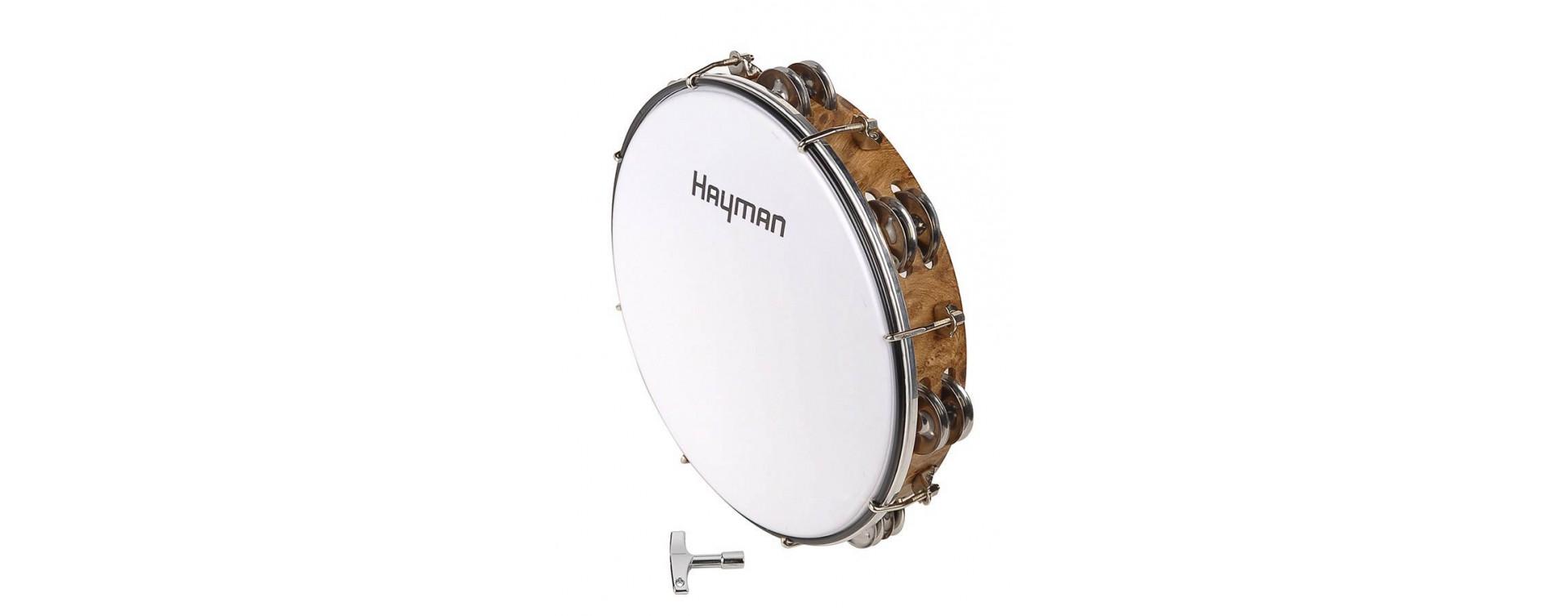 Tamburíny a ručné bubny
