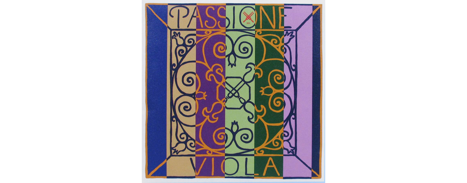 Struny na violy
