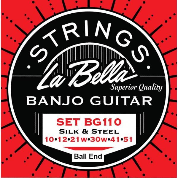 La Bella Acoustic Folk L-BG110-BE