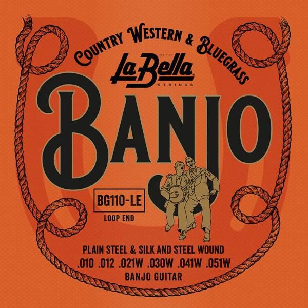 La Bella Acoustic Folk L-BG110-LE