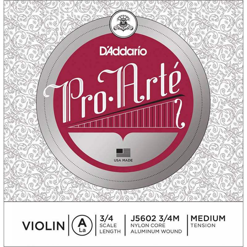 D'Addario Pro Arte Bowed J5602-34M