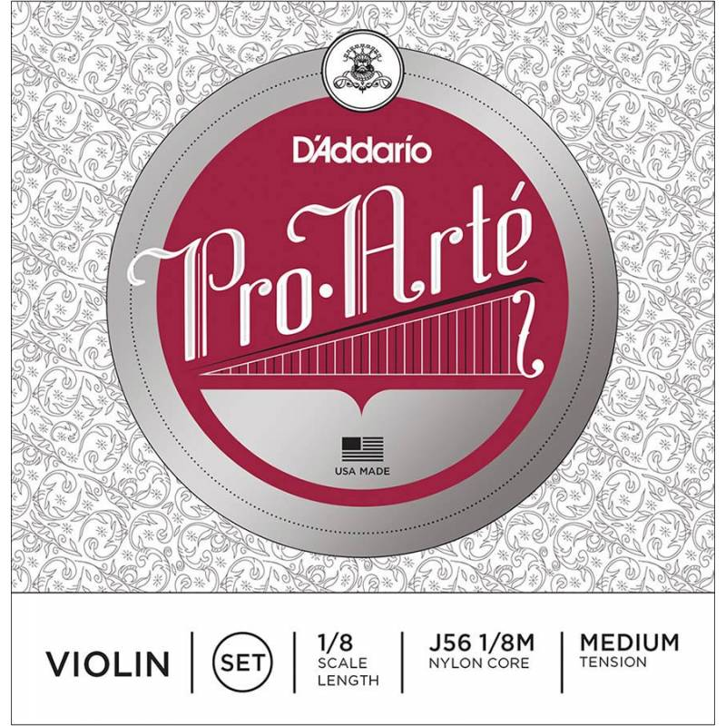 D'Addario Pro Arte Bowed J56-18M