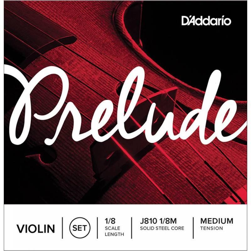 D'Addario Prelude J810-18M