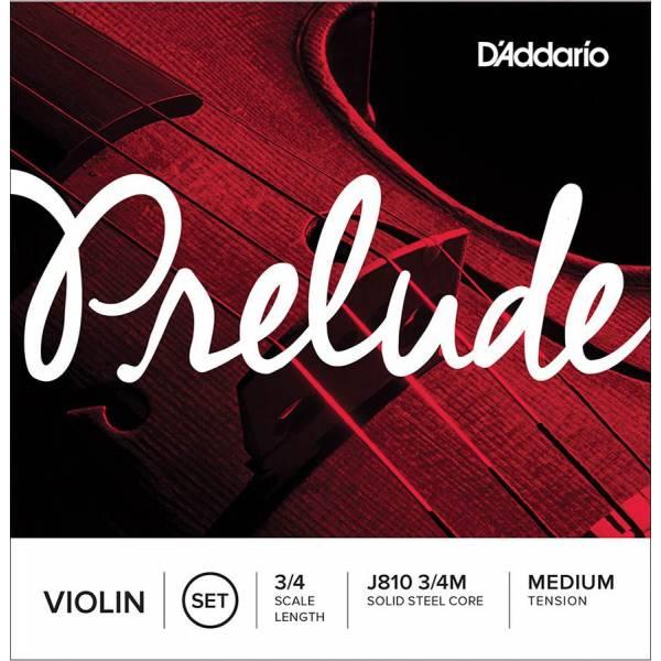 D'Addario Prelude J810-34M