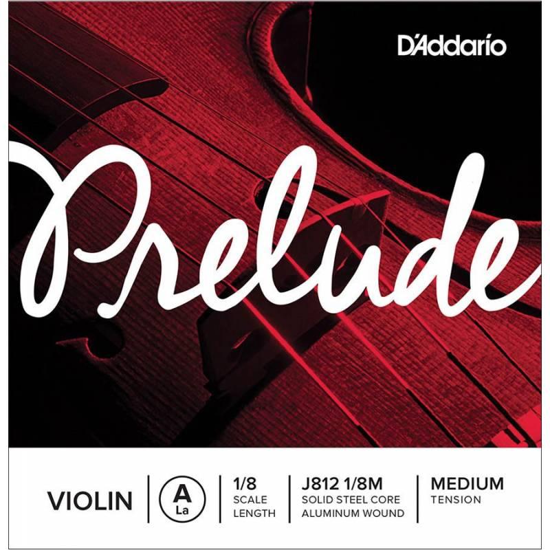 D'Addario Prelude J812-18M