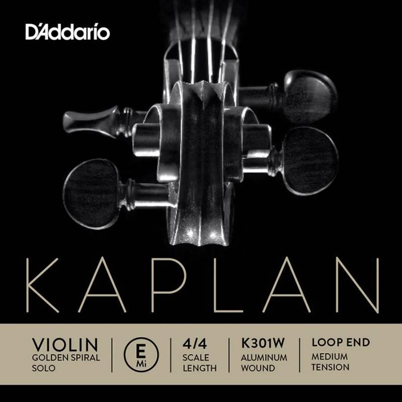 D'Addario Kaplan Golden Spiral Solo K301W
