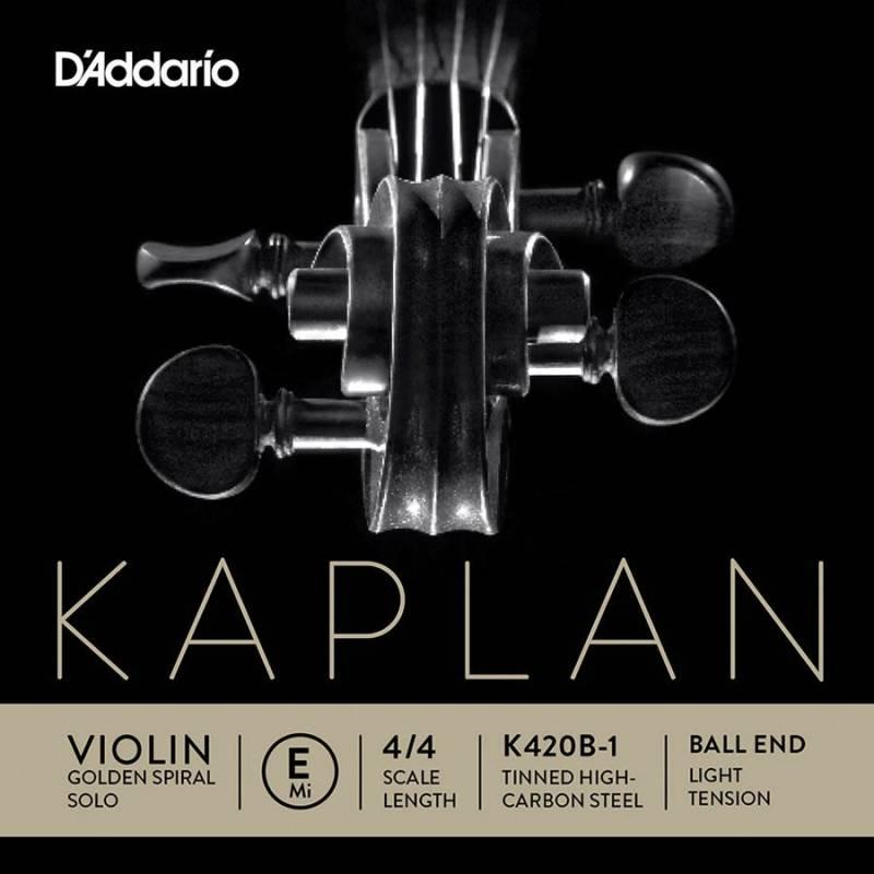 D'Addario Kaplan Golden Spiral Solo K420B-1