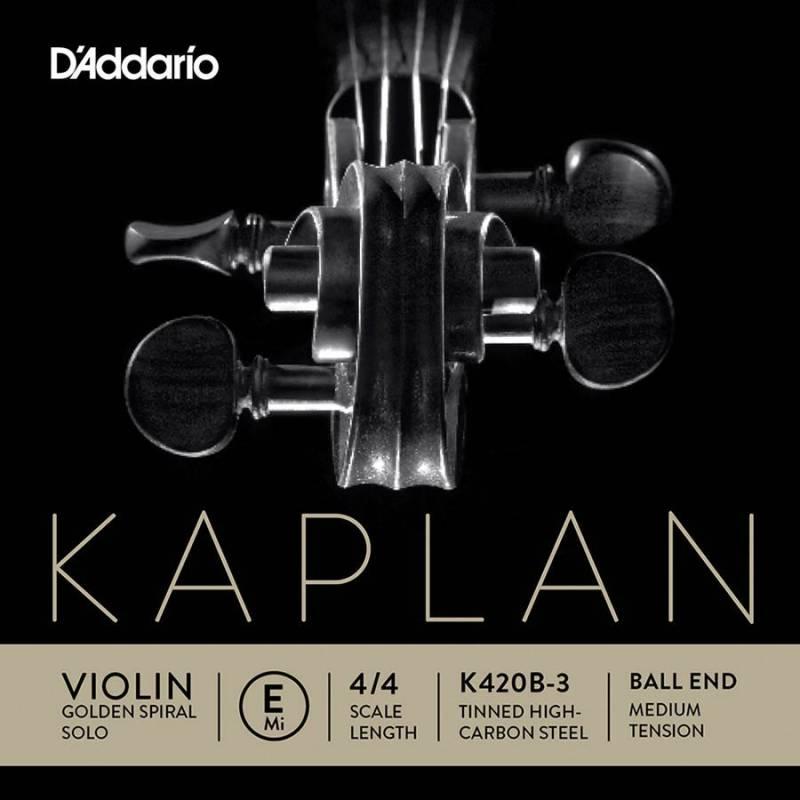 D'Addario Kaplan Golden Spiral Solo K420B-3