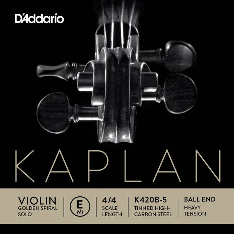 D'Addario Kaplan Golden Spiral Solo K420B-5