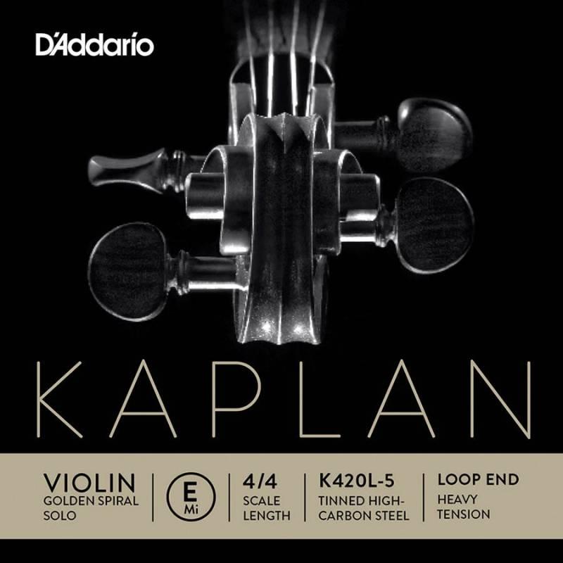 D'Addario Kaplan Golden Spiral Solo K420L-5