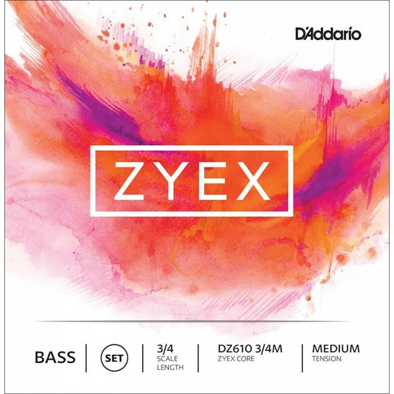 D'Addario Zyex DZ610-34M