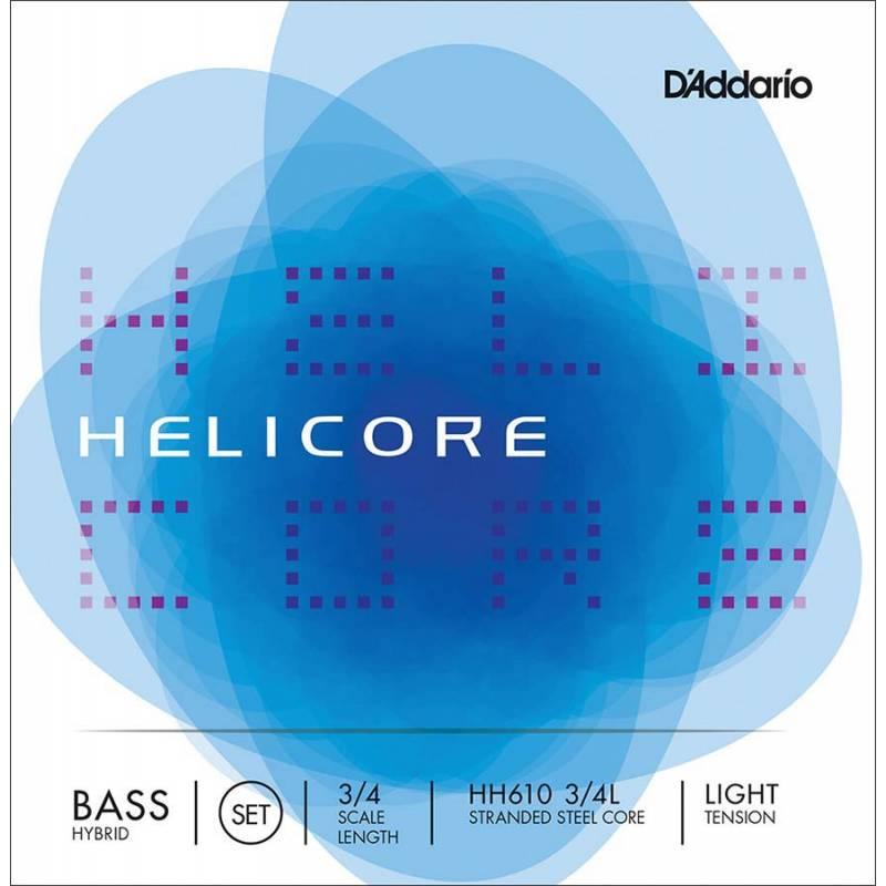 D'Addario Helicore Hybrid HH610-34L