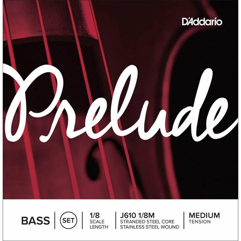 D'Addario Prelude J610-18M