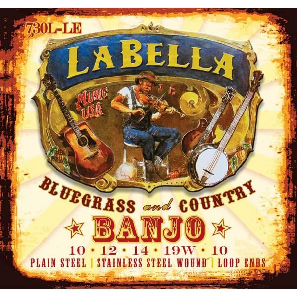 LaBella Acoustic Folk L-730L