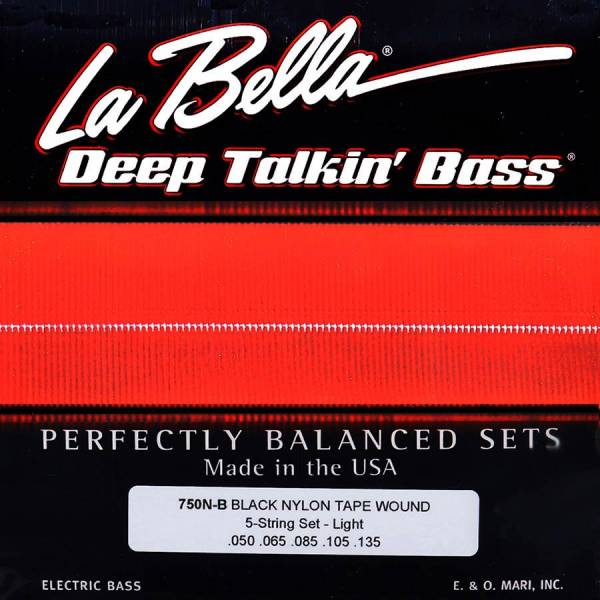LaBella Deep Talkin' Bass L-750N-B