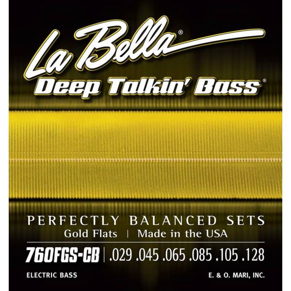 LaBella Deep Talkin' Bass L-760FGS-CB
