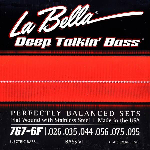 LaBella Deep Talkin' Bass L-767-6F